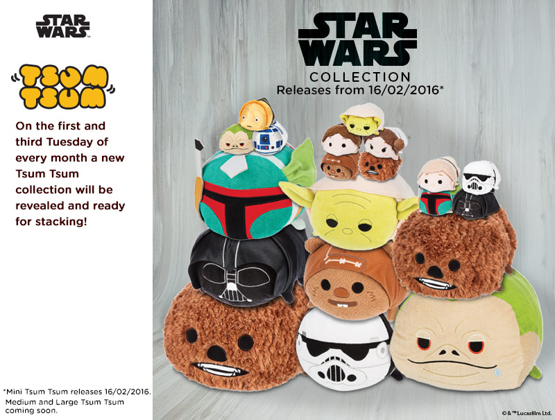 Star Wars Tsum Tsum Collection Out Now