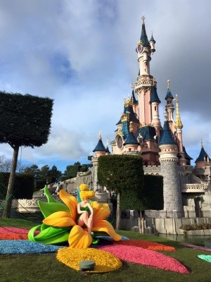 Tinker Bell Topiary at Theatre de Chateau