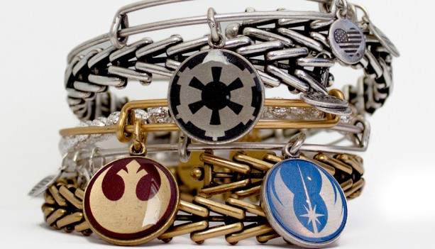 New Star Wars Inspired Bangles Coming Soon from Alex and Ani