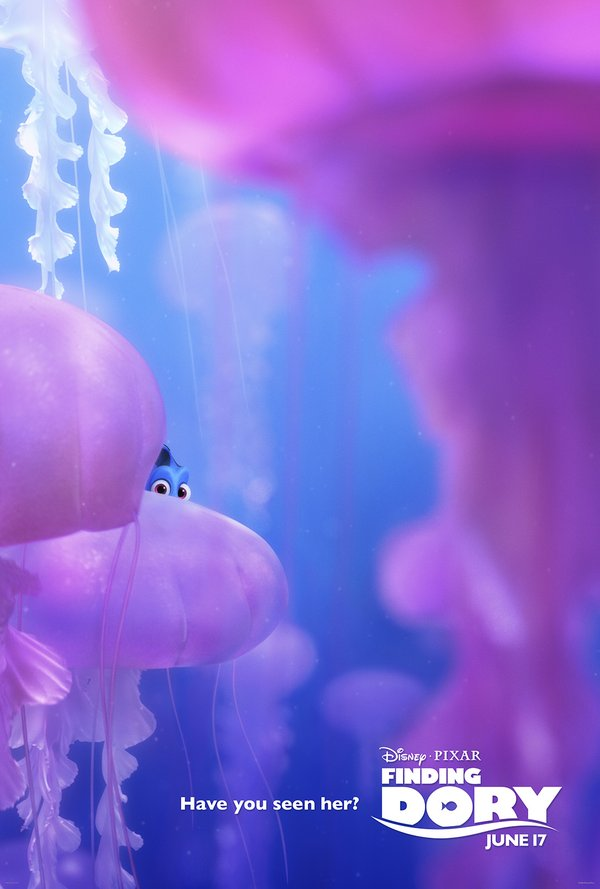 Four New Finding Dory Posters Released