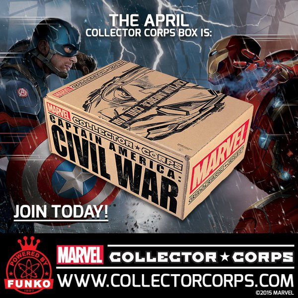 April's Marvel Collector Corps Theme Revealed