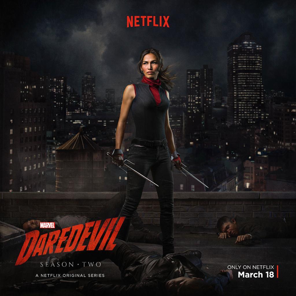 New Electra Poster Released For Daredevil Season 2
