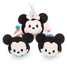 New Birthday Mickey And Minnie Tsum Tsums Released Today!