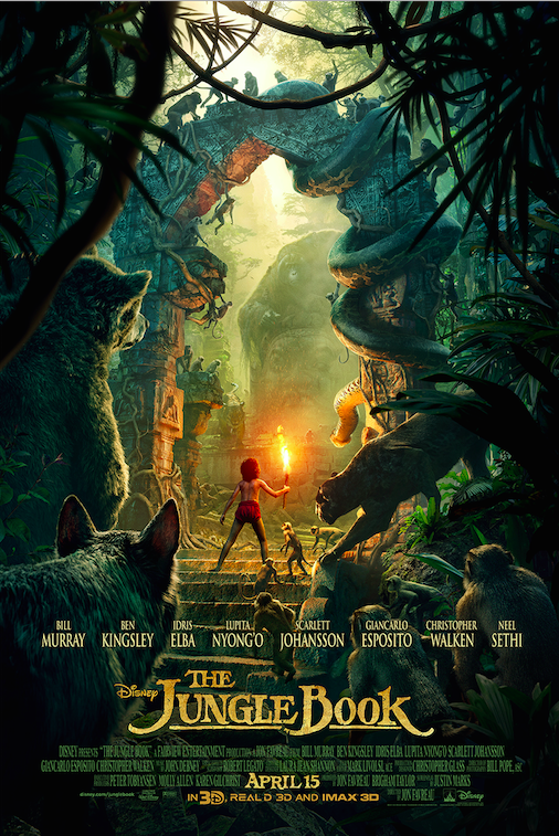 New Clips Of The Jungle Book Released