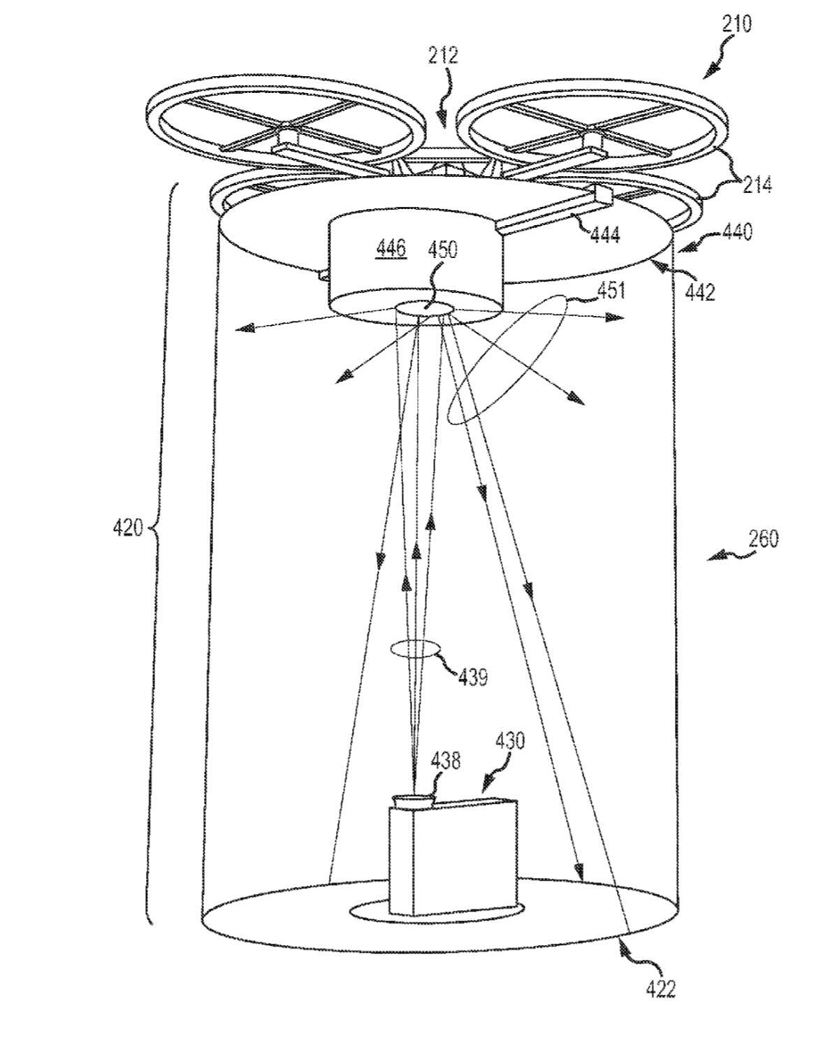 Disney Drone Patent for Projections Revealed