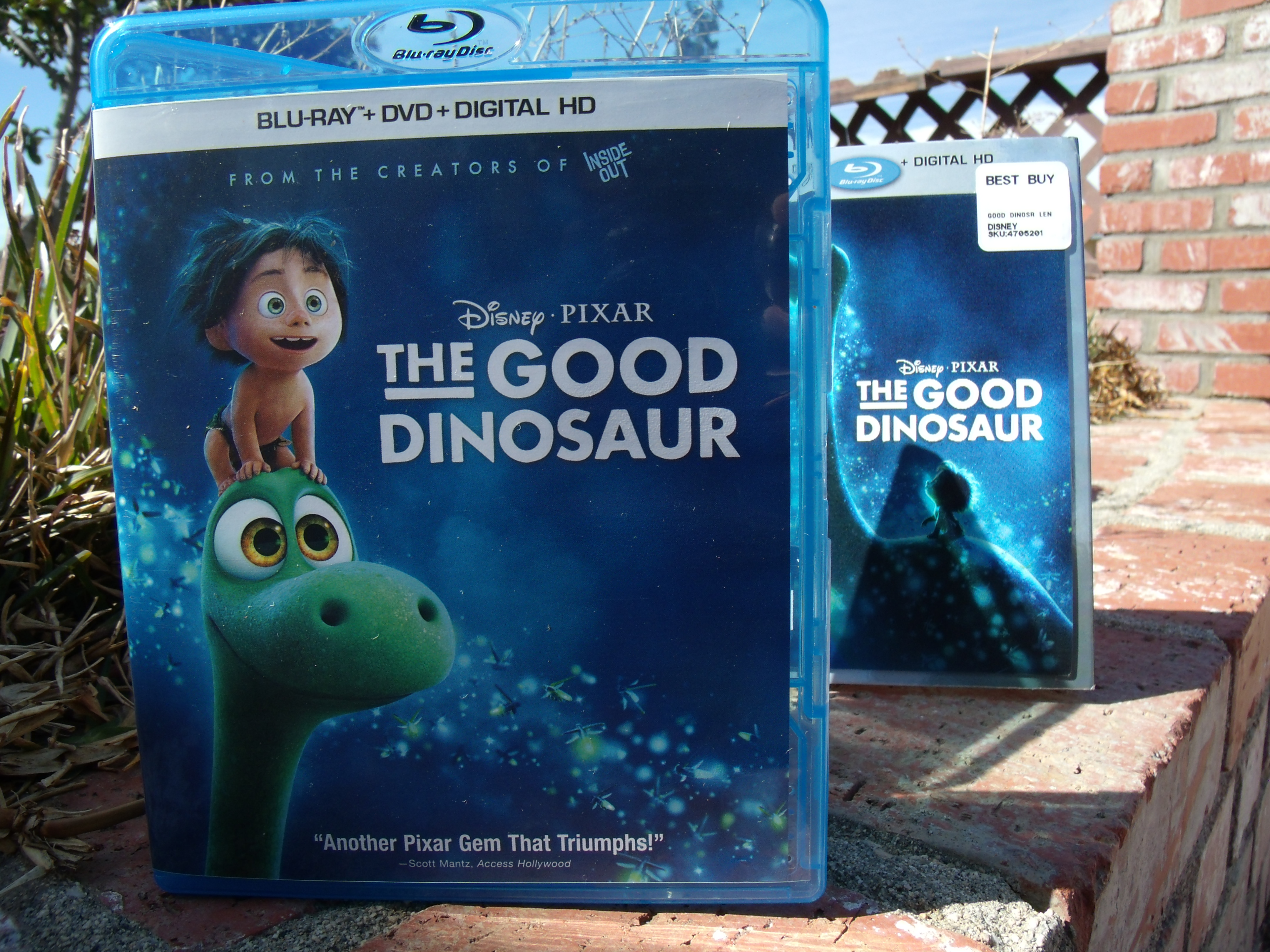 The Good Dinosaur Blu-Ray Review!