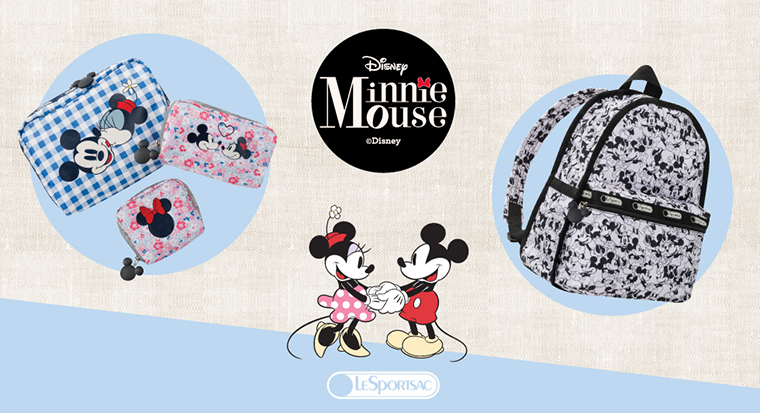 New Mickey & Minnie LeSportsac Bags Coming to Japan in March!!!