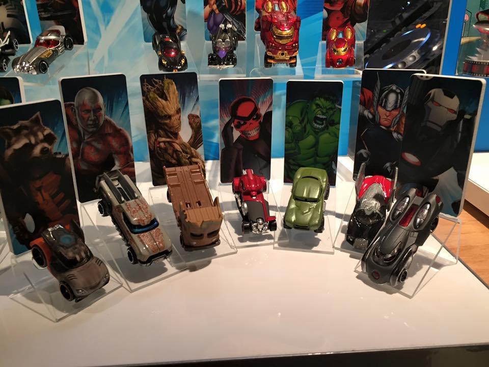 Marvel & Star Wars Hot Wheels Toy Fair Previews