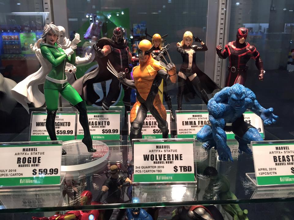 Kotobukiya Star Wars & Marvel Toy Fair Preview