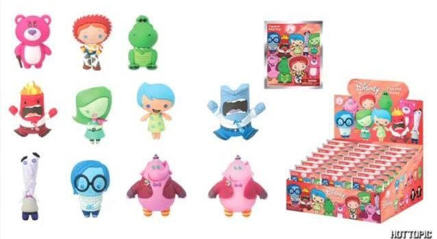 Inside Out Big Hero 6 Amp Tsum Tsum Keychains Coming To Hot