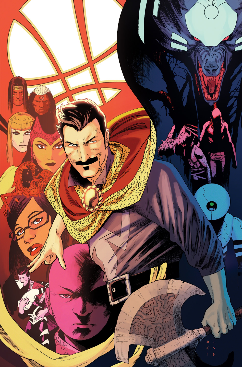 """The Last Days of Magic"" Starts Now – Your First Look at DOCTOR STRANGE #6!"