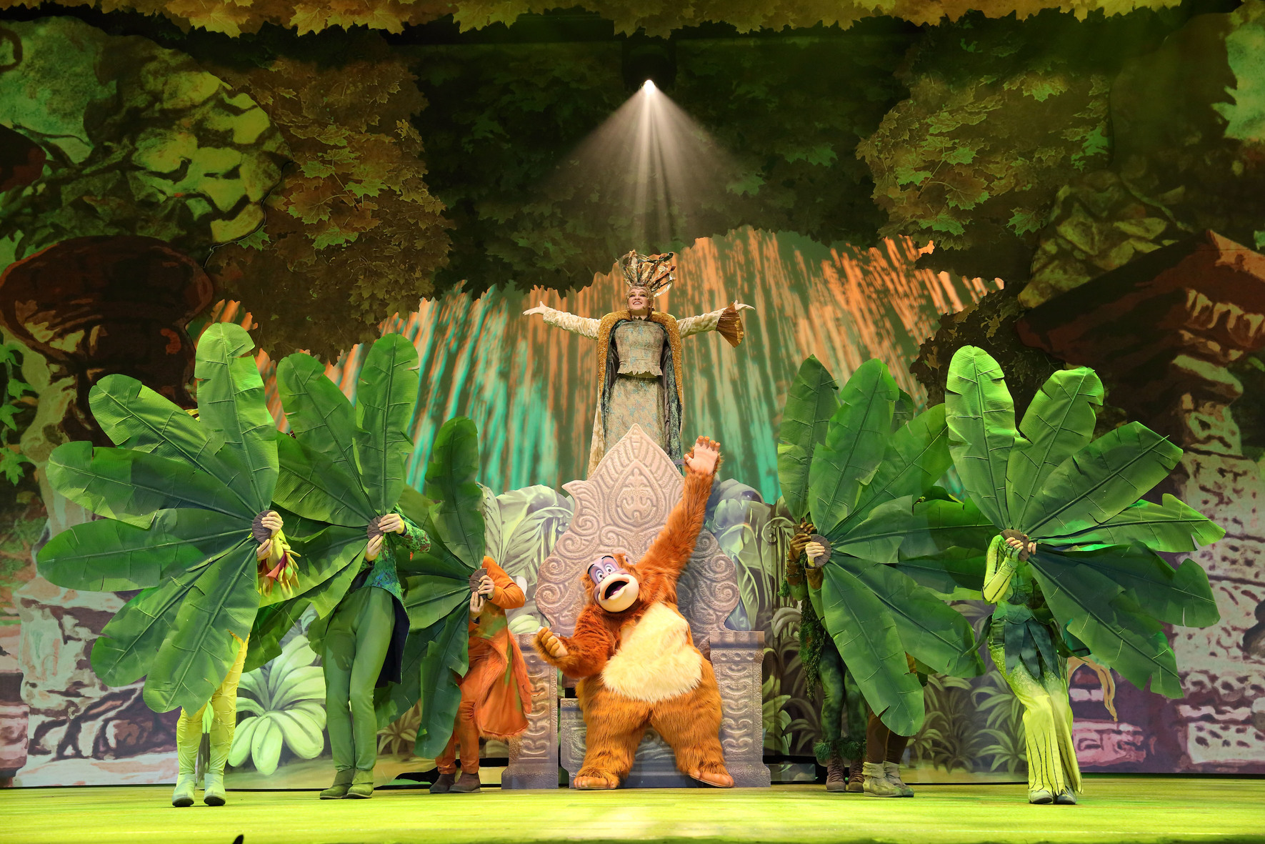 The forest of enchantment a disney musical adventure for Forets carrelage