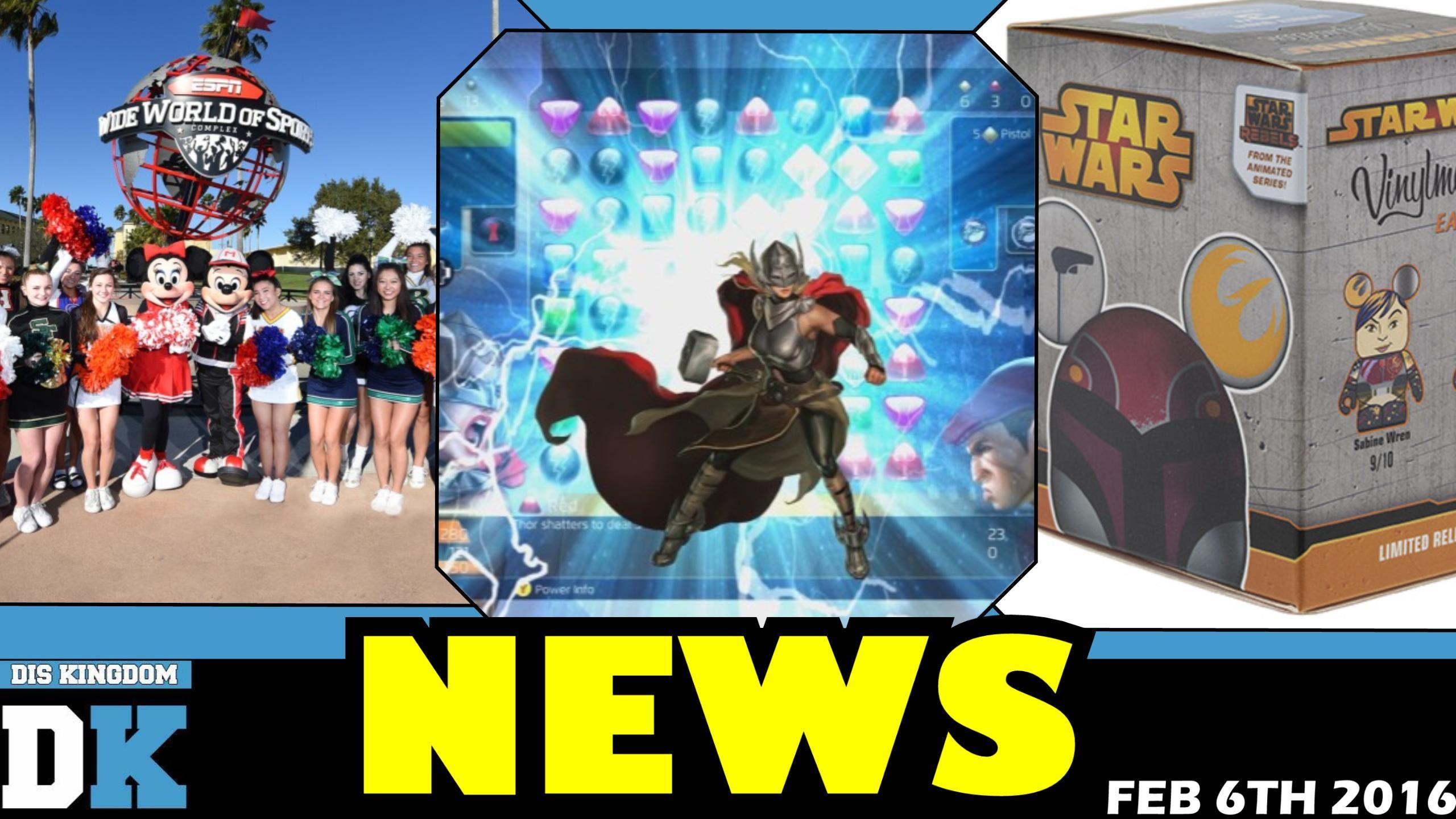 ESPN Expansion + Star Wars Rebels Sabine Vinylmation & More – Daily Disney News