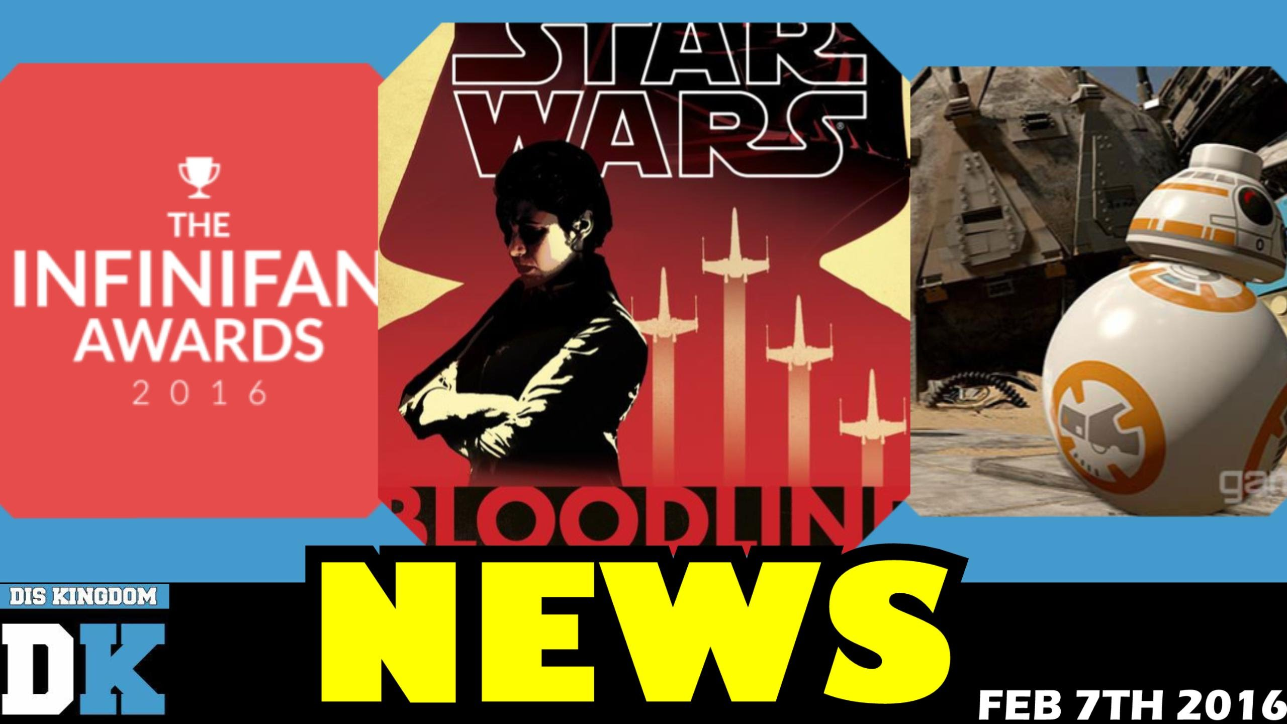 Star Wars Bloodlines + LEGO Star Wars: The Force Awakens – DK Daily News