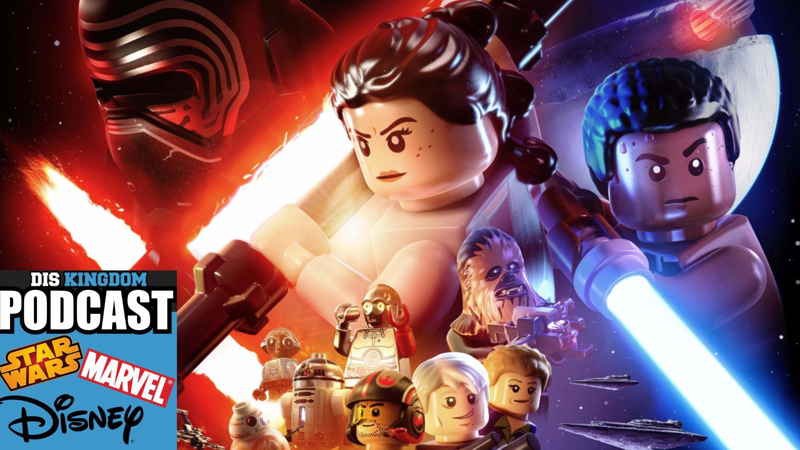 Let's Talk LEGO Star Wars The Force Awakens – DisKingdom Podcast