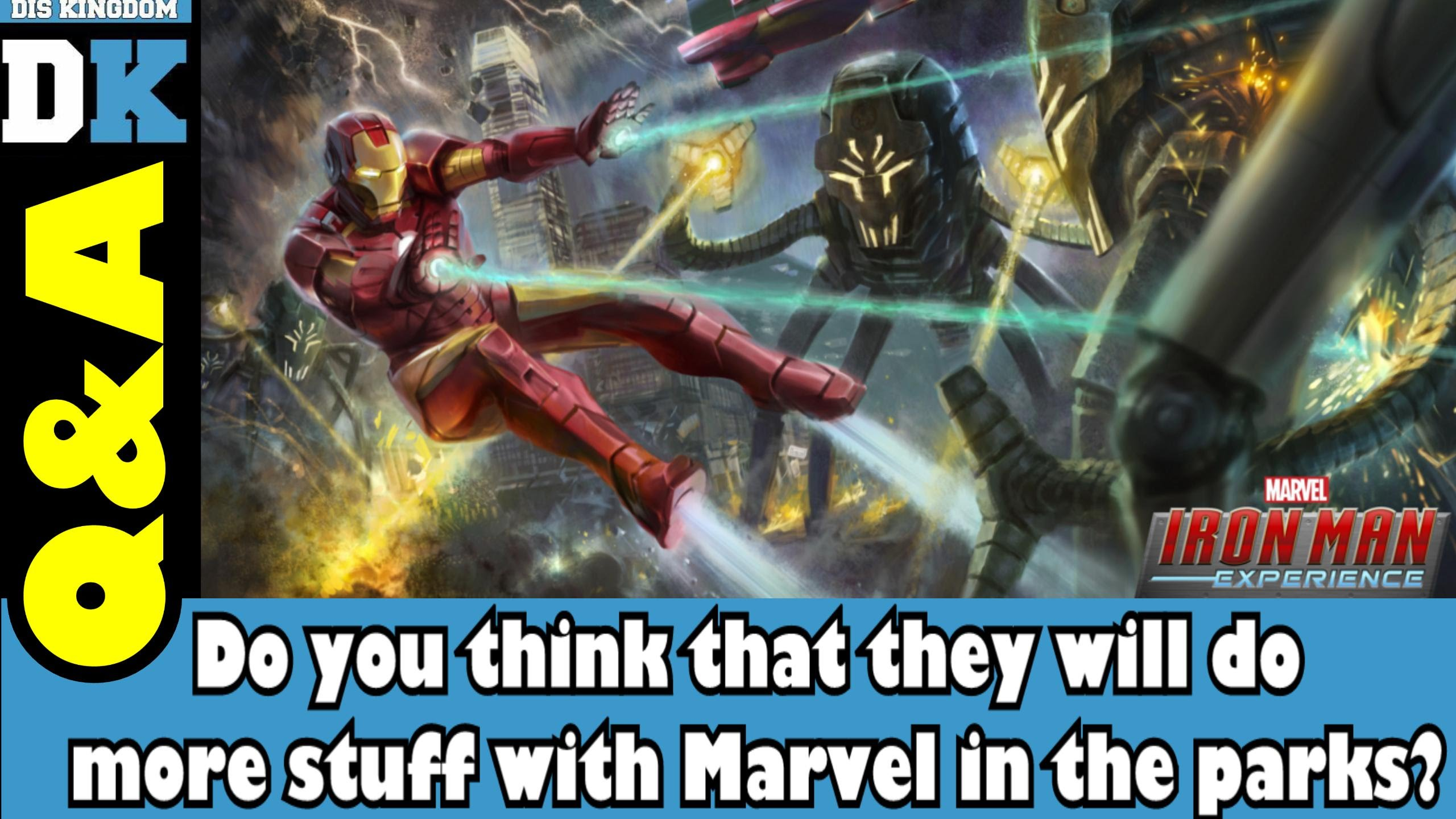 Do You Think More Marvel Will Be Added To The Disney Theme Parks?
