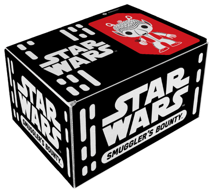 What Pop Vinyls Will Be In the Smuggler's Bounty Cantina Box?