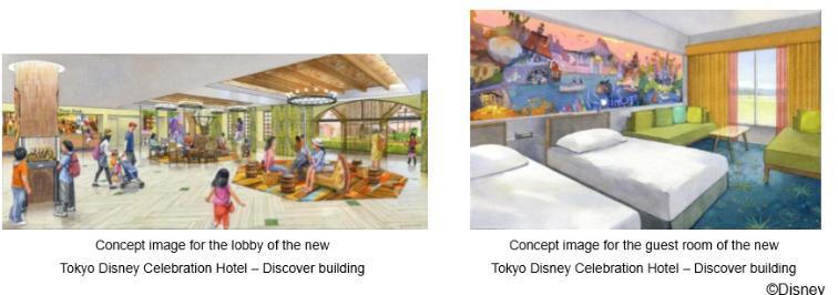 Tokyo Disney Celebration Hotel Building to Open September 10th, 2016