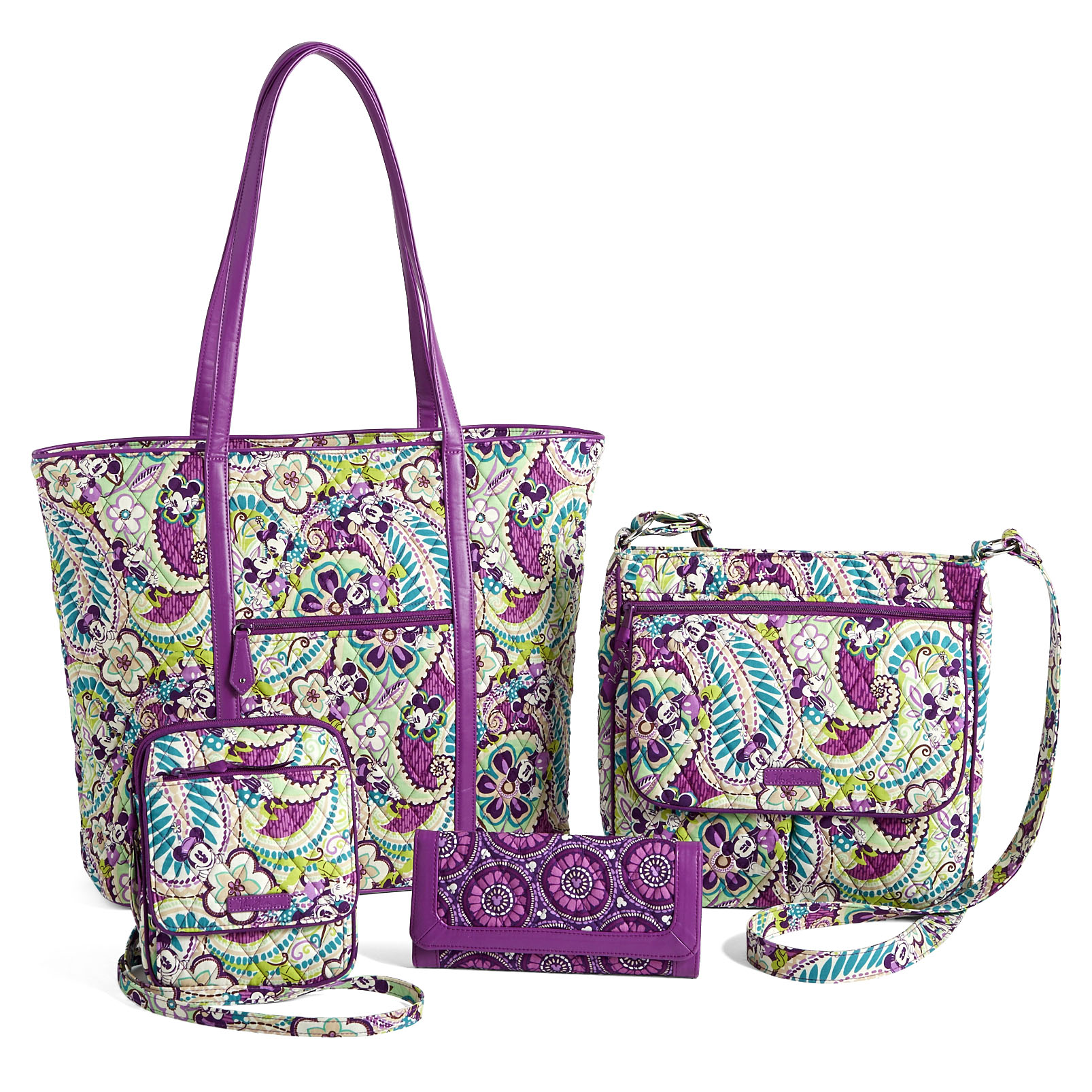 9a6d9fe348 New Disney Plums Up Vera Bradley Collection Online at The Disney ...