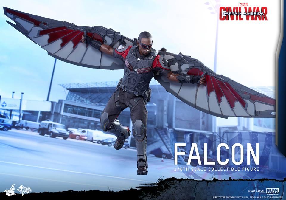 Captain America: Civil War 1/6th Scale Falcon Collectible Figure Coming Soon
