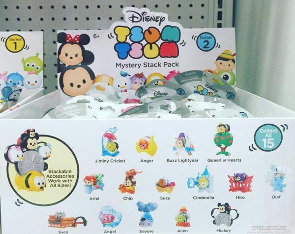 First Look: Tsum Tsum Mystery Stack Packs Series 2