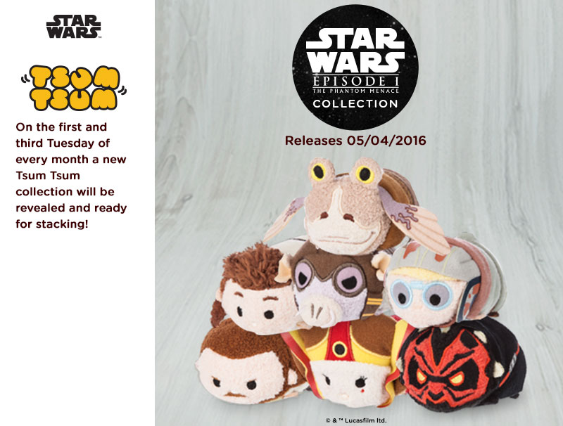 Star Wars: The Phantom Menace Tsum Tsum Collection Coming Soon