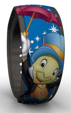 Jiminy Cricket MagicBand Out Now