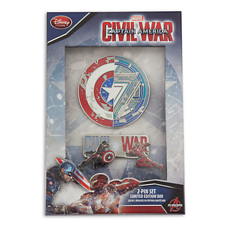 Captain America: Civil War Limited Edition Pin Set Out Now