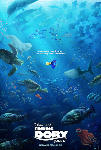 New Finding Dory Poster Released