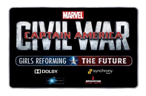 Marvel's Civil War – Girls Reforming The Future Challenge