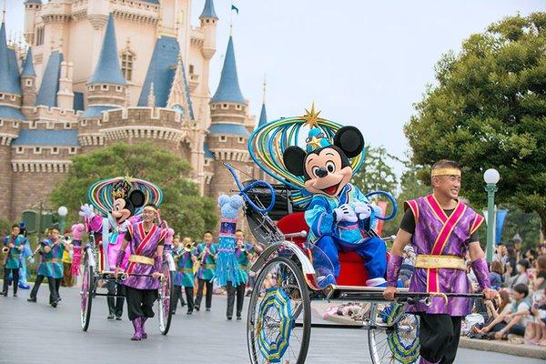 Disney Tanabata Days at Tokyo Disney Resort June 16th to July 7th, 2016