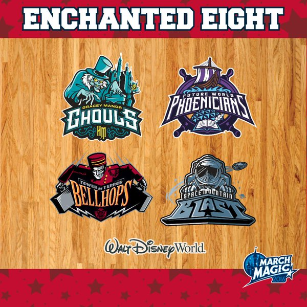 March Magic 2016- Round 3: The Enchanted Eight