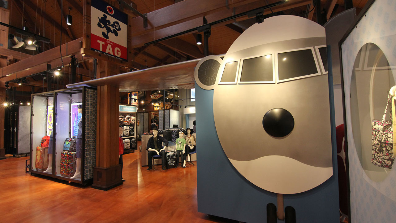 Disney Springs Opens TAG ( Travel- Accessories-Gear) Boutique