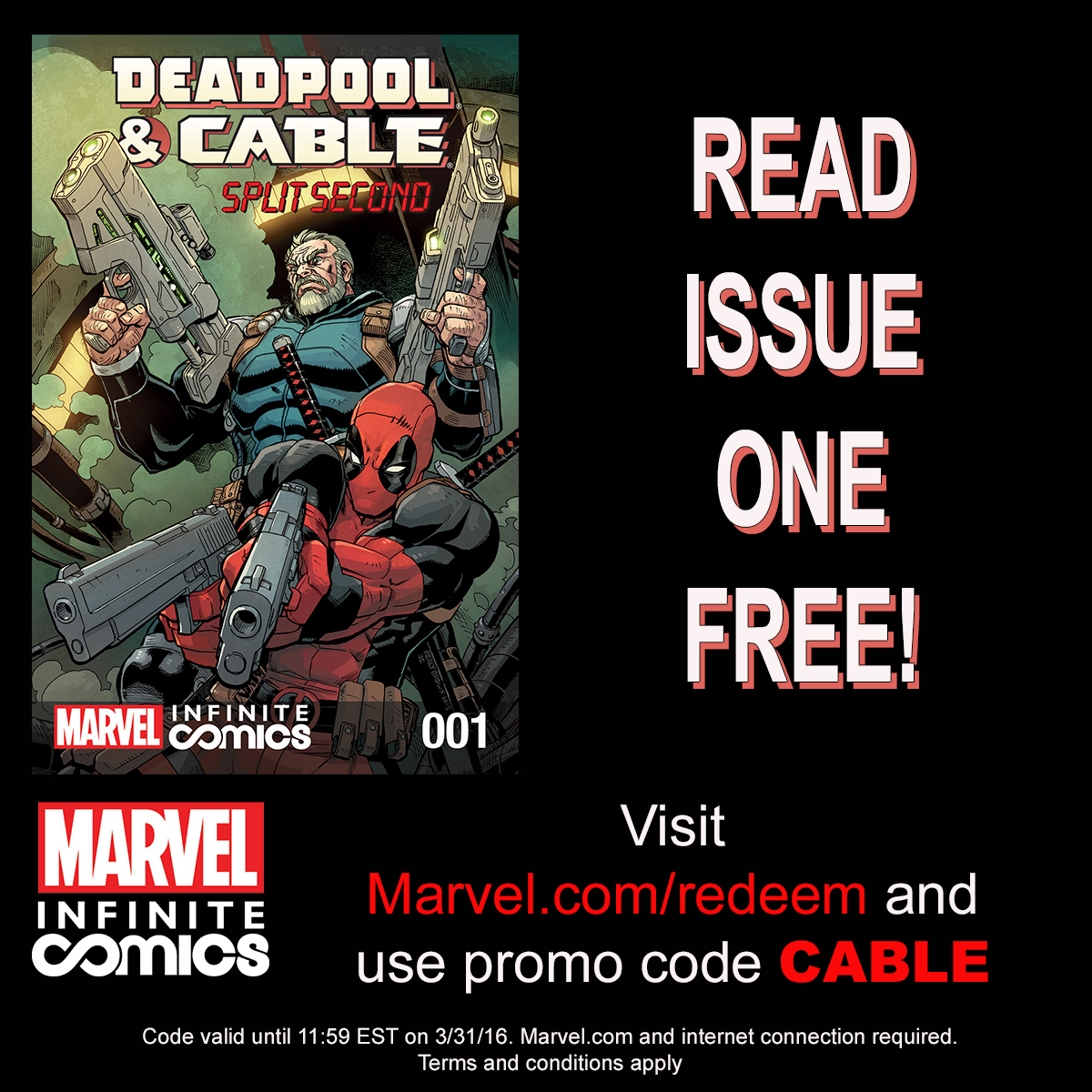 DAREDEVIL/PUNISHER #1 – The Newest Marvel Infinite Comic Available Now!