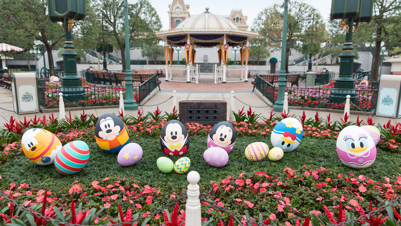 Hong Kong Disneyland Resort's First Ever Springtime Egg-stravaganza Preview