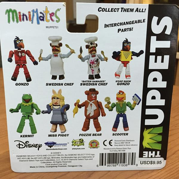 The Muppets Minimates Series 1 Gonzo /& Swedish Chef