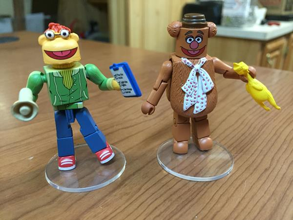 Review Diamond Select S Muppets Minimates Series 1