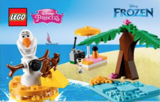 LEGO Disney Princess Olaf's Summertime Fun (30397) Review