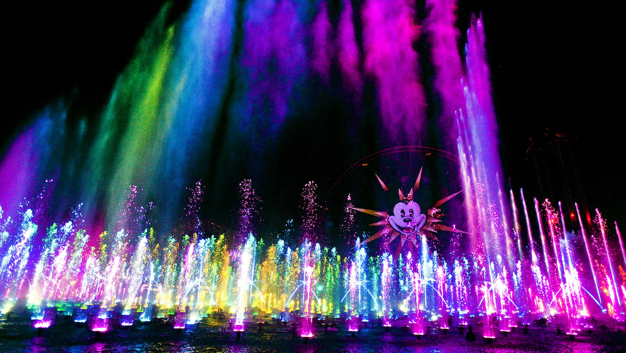 New 'World of Color' Dessert Party At Disney California Adventure Park