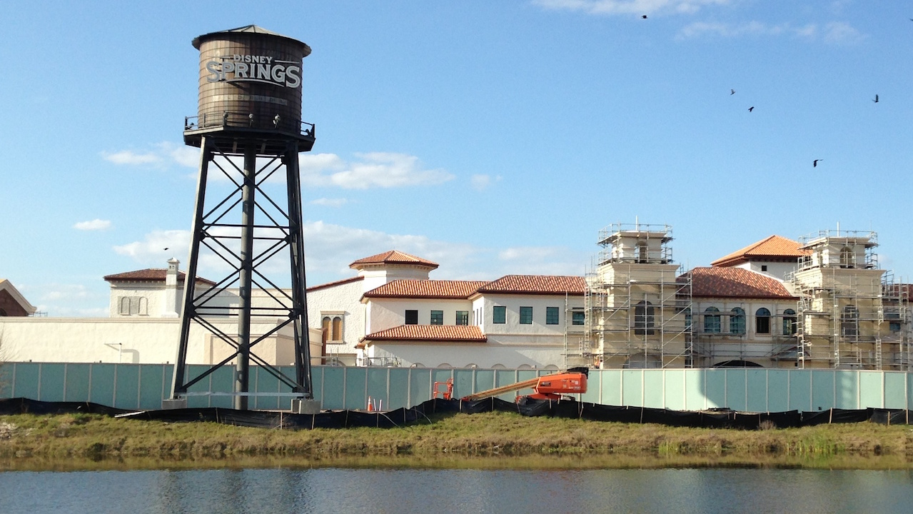 Water Tower Installed At Disney Springs