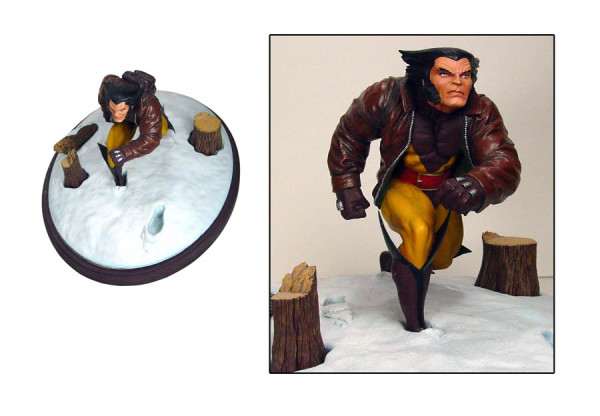 In Stores Today: Marvel Premier Wolverine Statue (Diamond Select)
