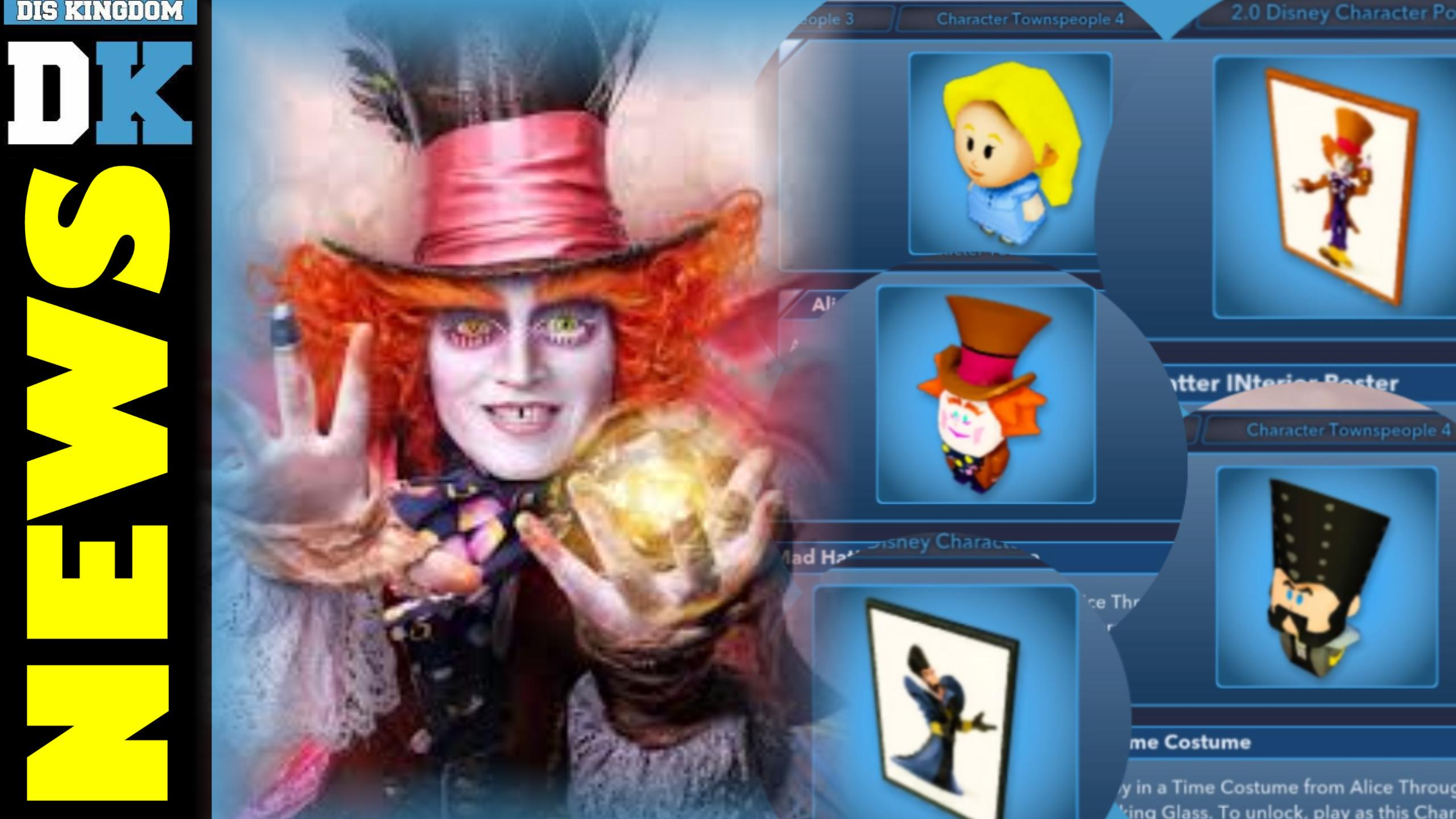 Alice Through The Looking Glass Added To Disney Infinity 3.0