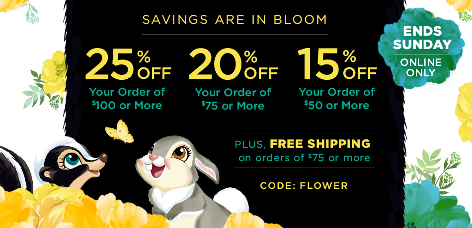 Spring Savings From DisneyStore.com
