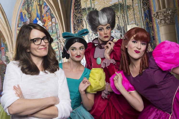 Tina Fey Visits Walt Disney World
