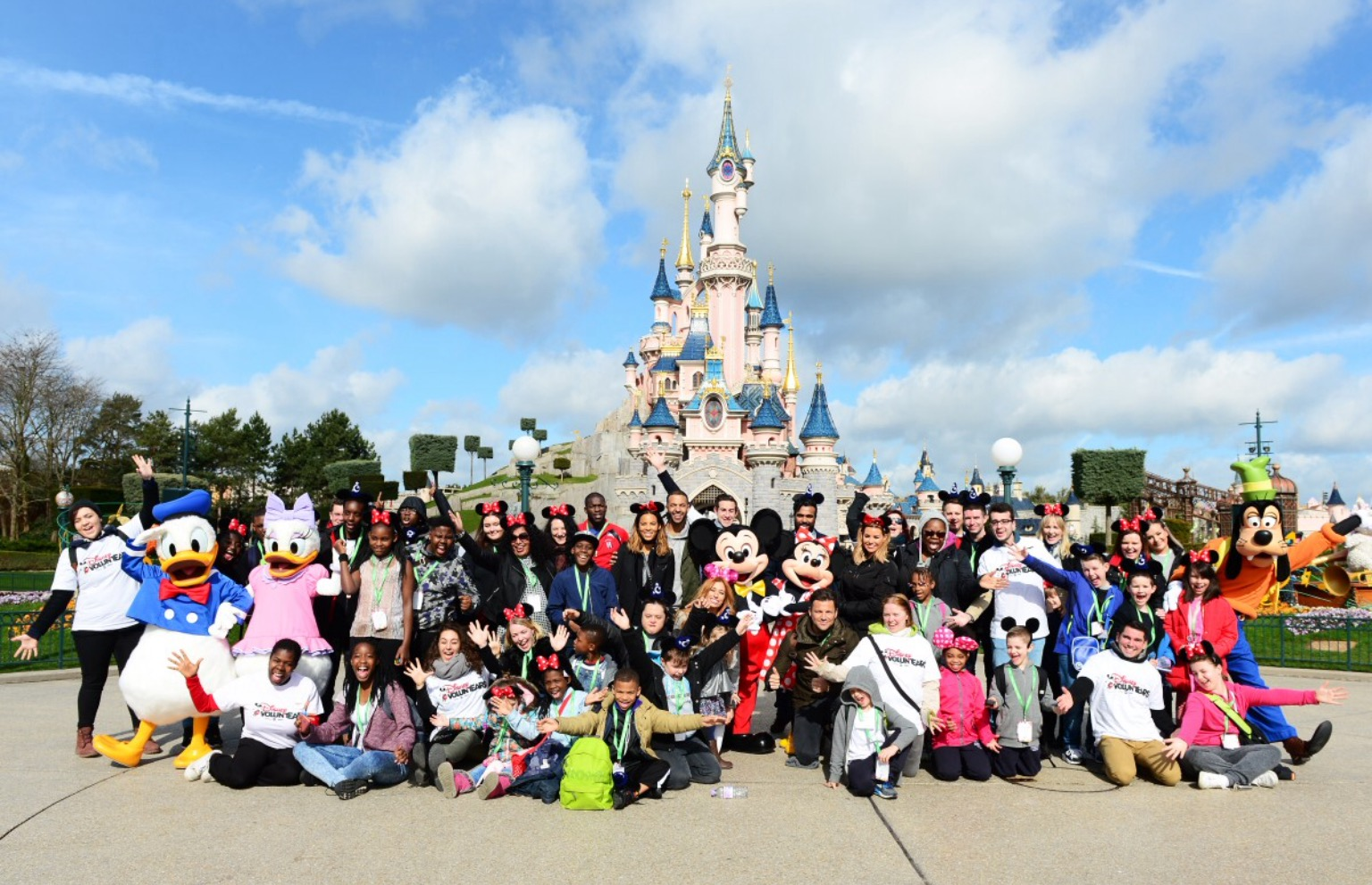 Stars Join Deserving Youngsters At Disneyland Paris