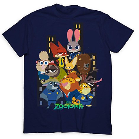 New Zootopia Limited Release T-Shirts Out Now