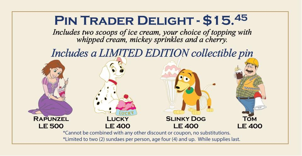 Latest Pin Trader Delights Pins Revealed