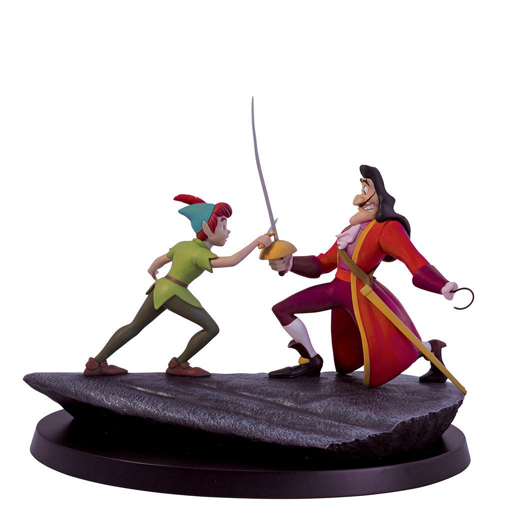 Border Fine Arts Release A Peter Pan & Hook Statue
