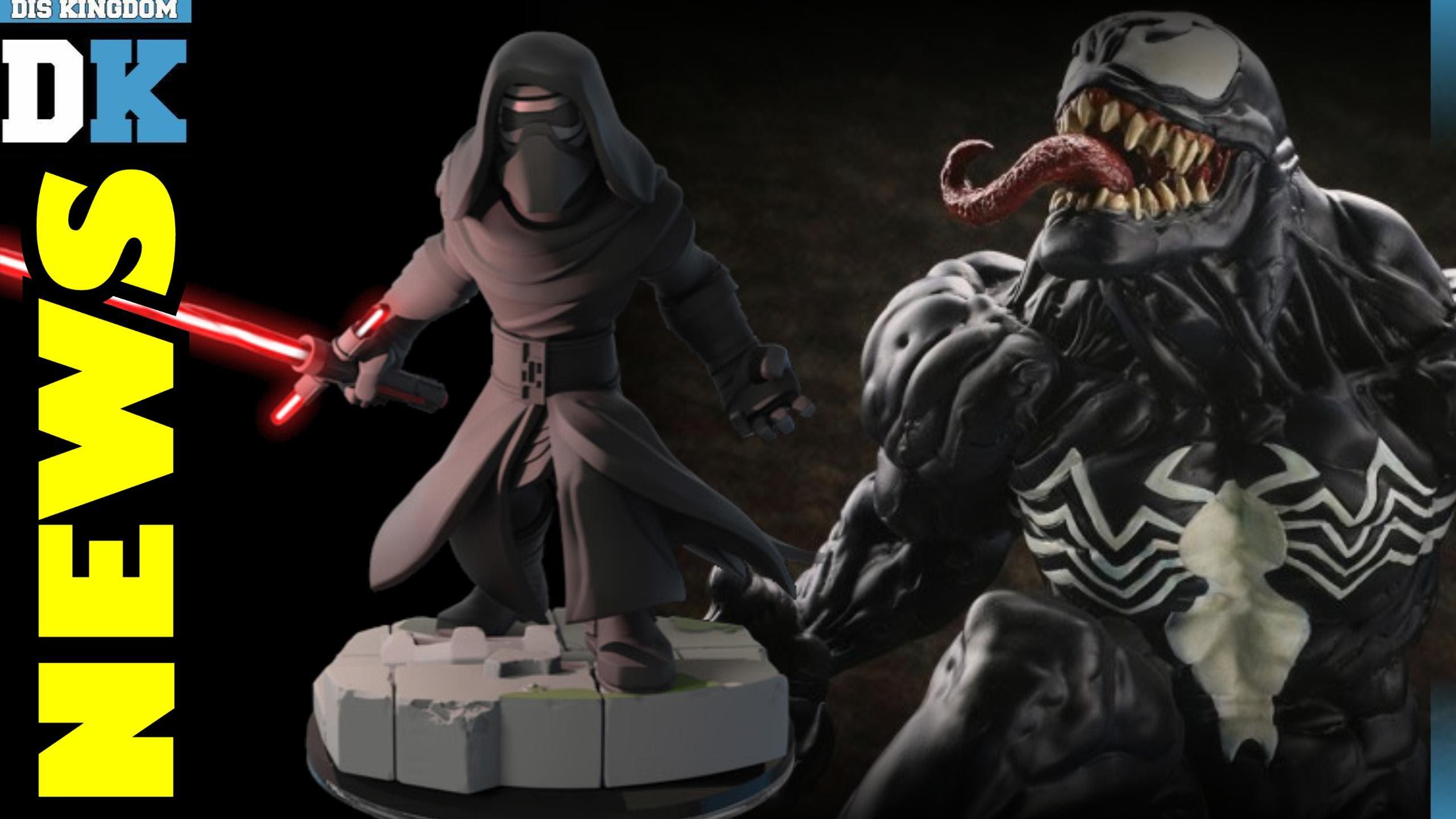 Disney Infinity 3.0 Kylo Ren Light FX Figure Details + Venom Solo Movie Coming Soon | DK News