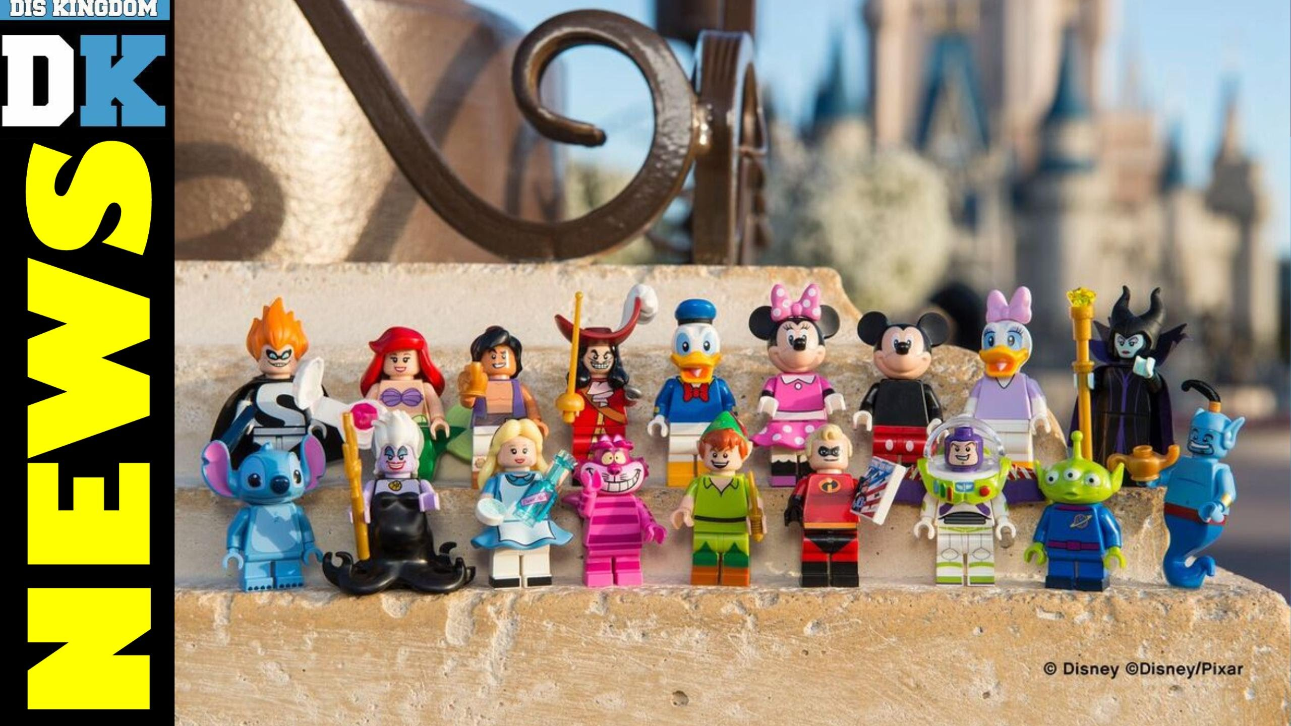 Disney LEGO Minifigure Series Coming In May